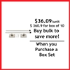 "Wall Mount Pole Banner Bracket 18"" - Box set [ 10 units/box]"