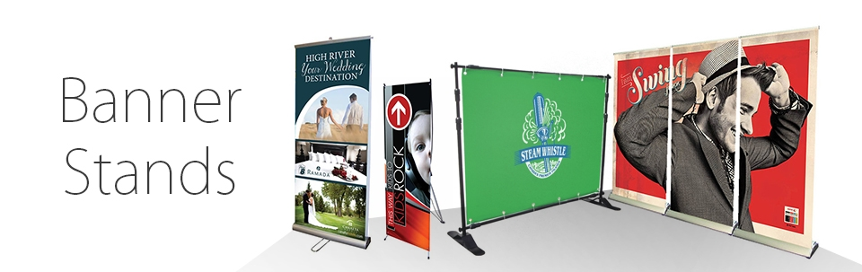 Banner Stands Retractable Banner Stands Signworld Canada Beauteous Artistic Displays Banner Stands