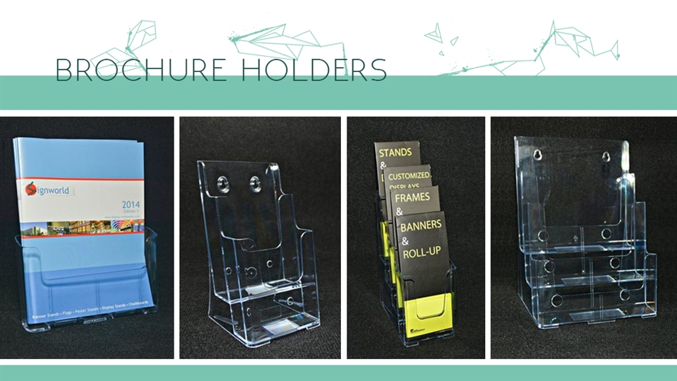 Acrylic Brochure Holders Signworld Canada Gorgeous Literature Display Stands Canada