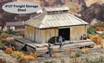 Freight Storage Shed Kit O scale