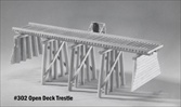 Open Deck Trestle Kit HO scale