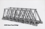 Howe Truss Bridge Kit HO scale