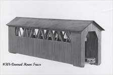 Covered Bridge Kit HO scale