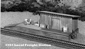 Local Freight Station Kit HO scale