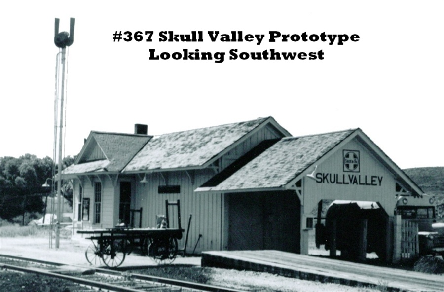 Skull Valley Station Kit Ho Scale