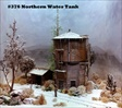 Northern Water Tank Kit HO scale