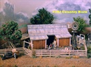Country Barn Kit HO scale