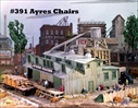 Ayres' Chair Factory Kit HO scale