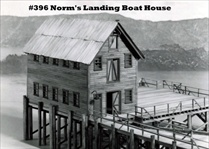 Norm's Landing Boat Shop Kit HO scale