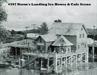 Norm's Landing Ice House & Cafe Kit HO scale
