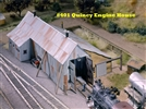 Quincy Engine House Kit HO scale