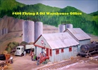 Quincy Oil Warehouse & Office Kit HO scale