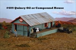Quincy Compound House Kit HO scale