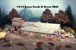 Saez Sash and Door No 1 Mill House and Loft Kit HO scale