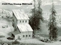 Ten Stamp Mill Kit HO scale