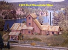 Red Mountain Mine Kit HO scale