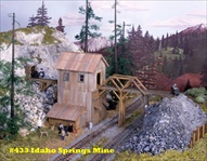 Idaho Springs Mine Kit HO scale