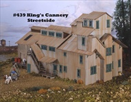 Kings Cannery Kit HO scale