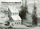 Ten Stamp Mill Kit N scale