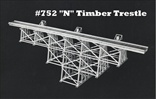 Timber Trestle Kit N Scale