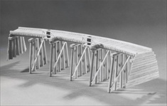 Low Curved Trestle Kit N Scale