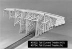 Tall Curved Trestle Kit N Scale