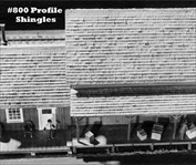 Profile Shingles 100 ft roll HO scale