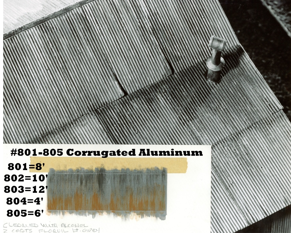 Corrugated Sheet Metal 10 Ft Ho Scale