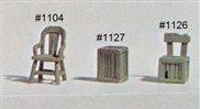 Chair HO scale