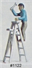 Step Ladder (unpainted) HO scale