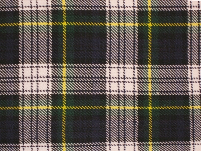 8 yard Traditional kilt - Gordon Dress Tartan