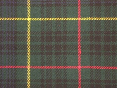 8 yard Traditional kilt - Hunting Black Tartan