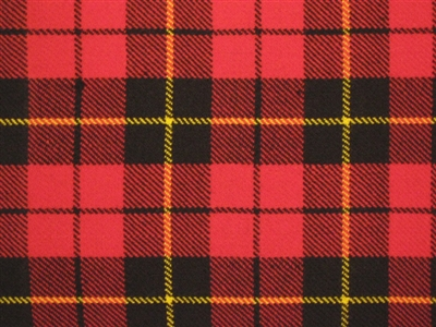 8 yard Traditional kilt - Wallace Tartan