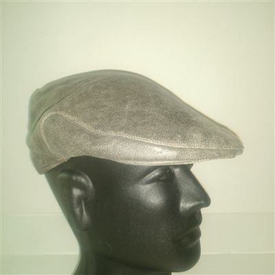 Leather Flat Cap
