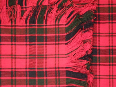 Fly Plaid wool blend