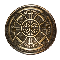 Round Buckle - Antique Brass