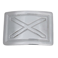Buckle - Saltire Cross 126S