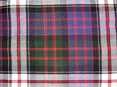 Acrylic Sash - MacDonald Dress Tartan - Special Order (8 week delivery)