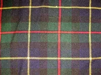 Acrylic Sash - MacLeod of Harris Tartan - Special Order (8 week delivery)