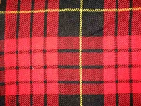 Acrylic Sash - MacQueen Modern Tartan - Special Order (8 week delivery)