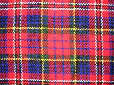Acrylic Sash - MacPherson Modern Red Tartan - Special Order (8 week delivery)