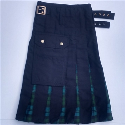 Tartan in Pleat kilt Campbell Ancient