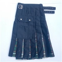 Tartan in Pleat kilt Irish Heritage