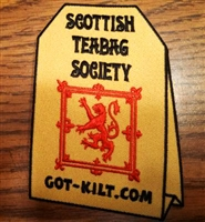 Scottish Teabag Patch