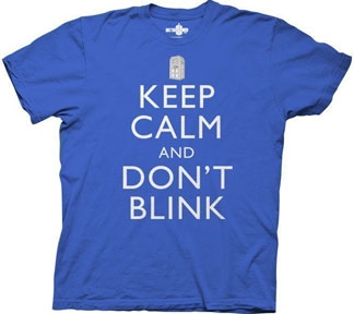 Dr Who - Keep Calm and Don't Blink -T-shirt