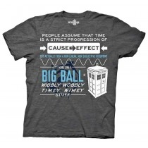Dr Who - Wibbly Wobbly -T-shirt