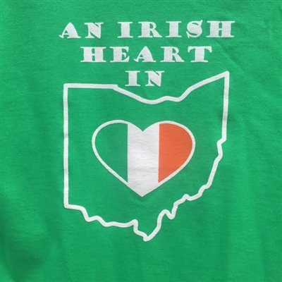 An Irish Heart in Ohio T-Shirt