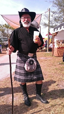 wool blend traditional kilt