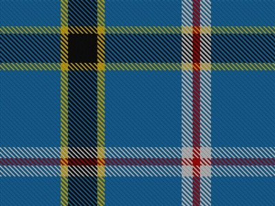 Wool Blend - State of Oaklahoma tartan