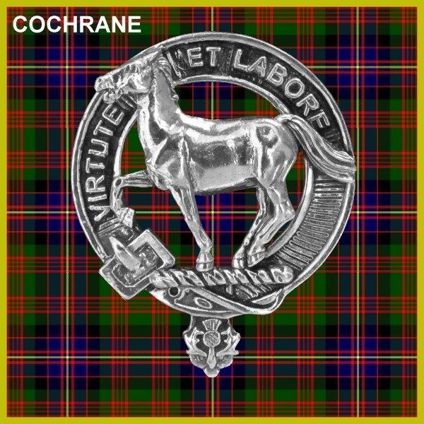 Hall Clan Badge Scottish Plaid Brooch